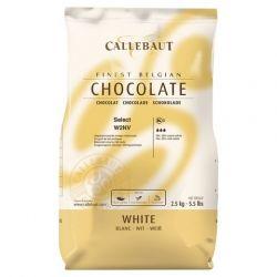 Callebaut 2,5 kg fehércsokoládé