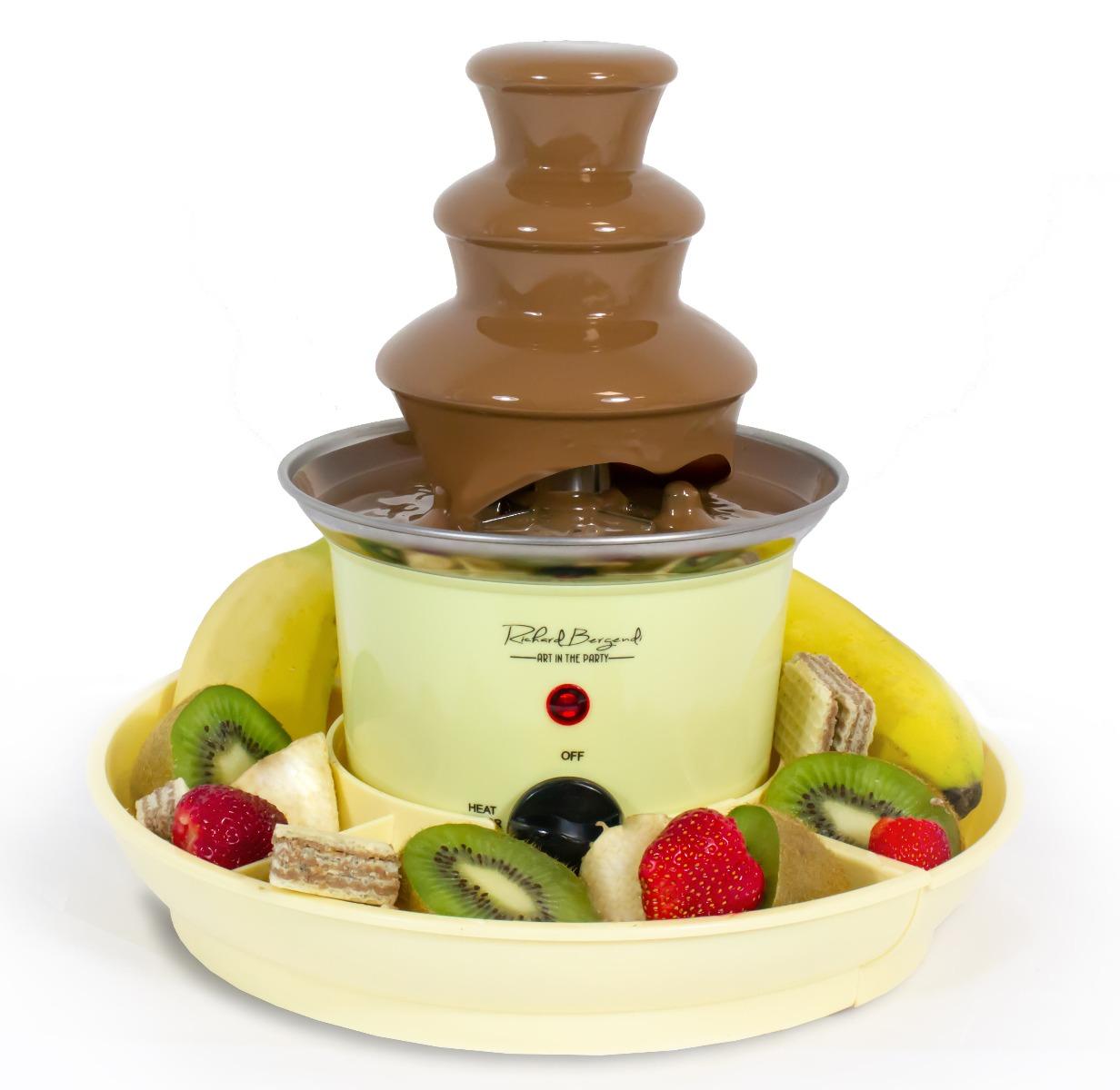 PETITE 240 mm csokoládé szökőkút kínálótállal